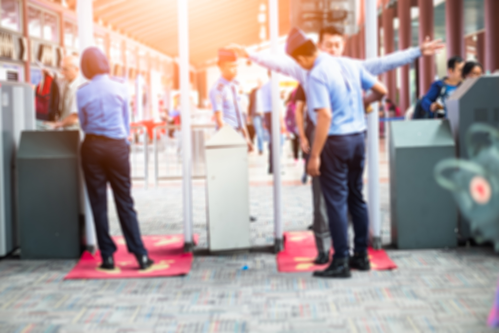 Getting Through Airport Security Machines Faster